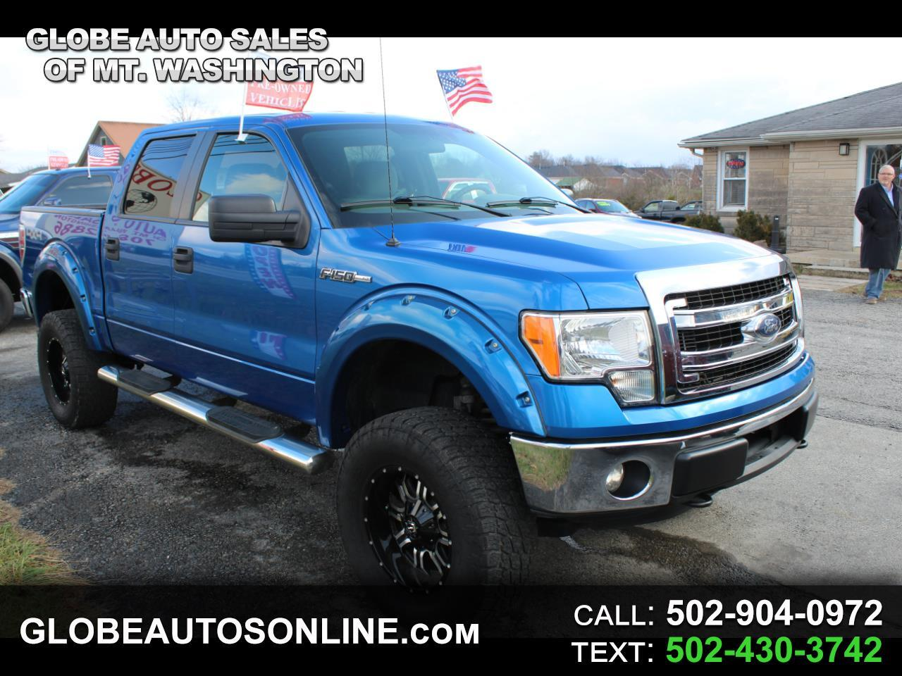 """Ford F-150 4WD SuperCrew Flareside 150"""" FX4 2013"""