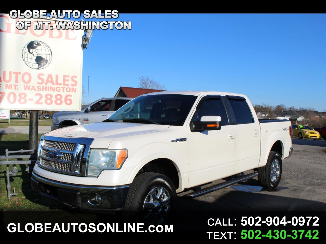 "Ford F-150 4WD SuperCrew 150"" Lariat 2010"