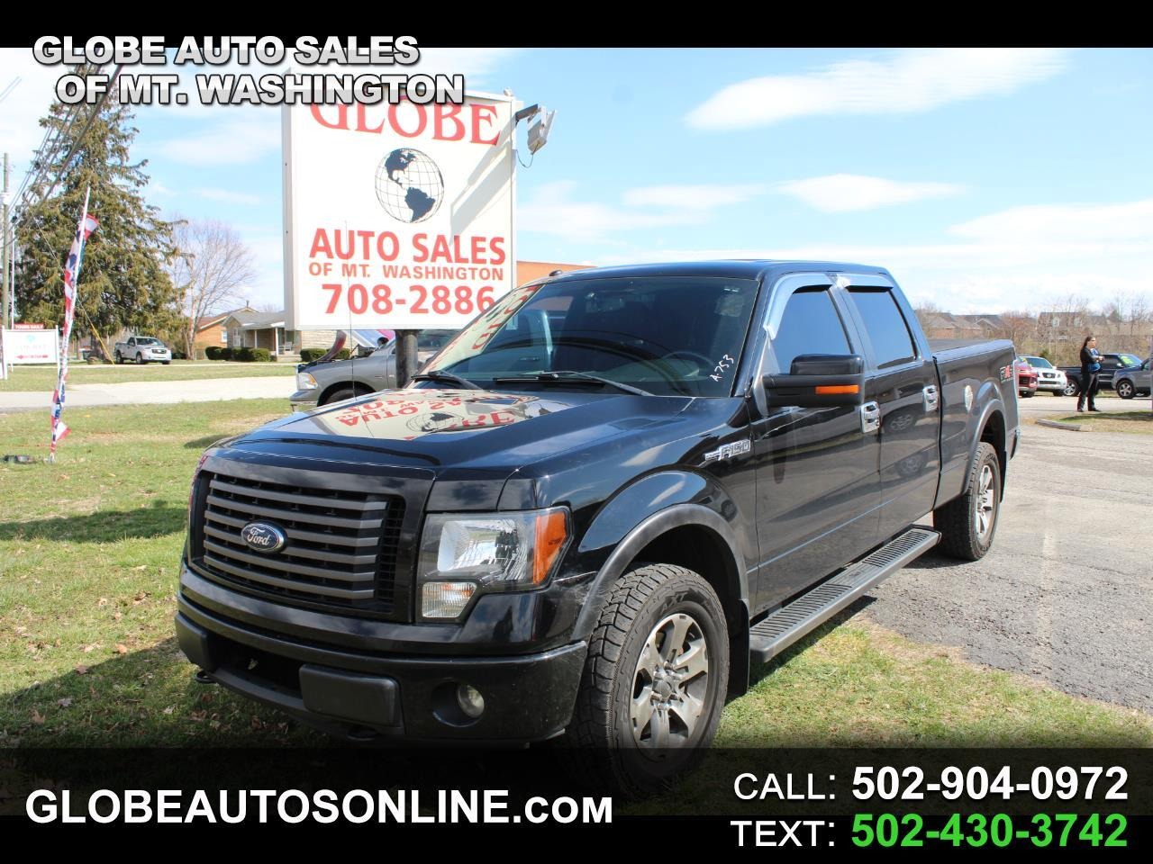 "Ford F-150 4WD SuperCrew 145"" FX4 2011"