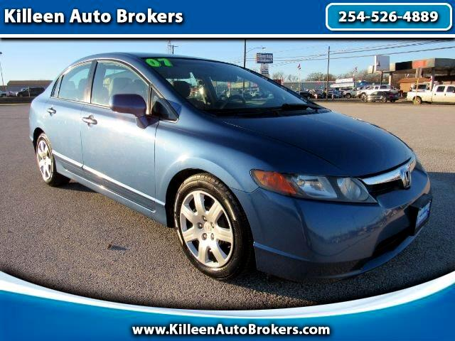 2007 Honda Civic Sdn 4dr AT LX