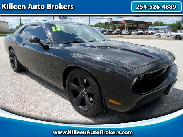 Dodge Challenger 2dr Cpe R/T Plus 2013