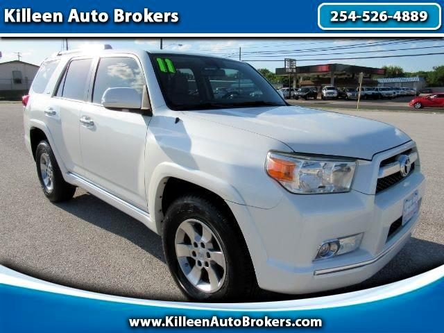 Toyota 4Runner RWD 4dr V6 Limited (Natl) 2011