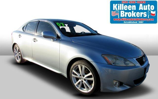 Lexus IS 250 4dr Sport Sdn Manual RWD 2007