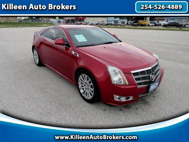 Cadillac CTS Coupe 2dr Cpe Premium RWD 2011