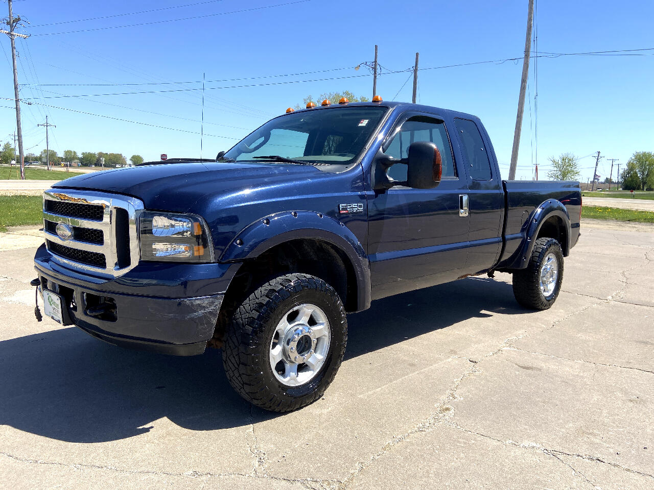 """Ford Super Duty F-250 Supercab 142"""" Lariat 4WD 2006"""