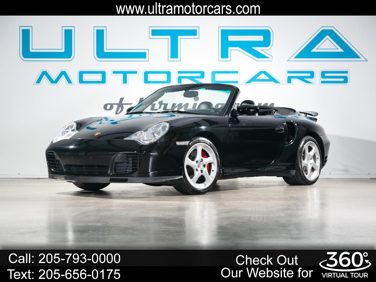 Porsche 911 2dr Cabriolet Turbo 6-Spd Manual 2004