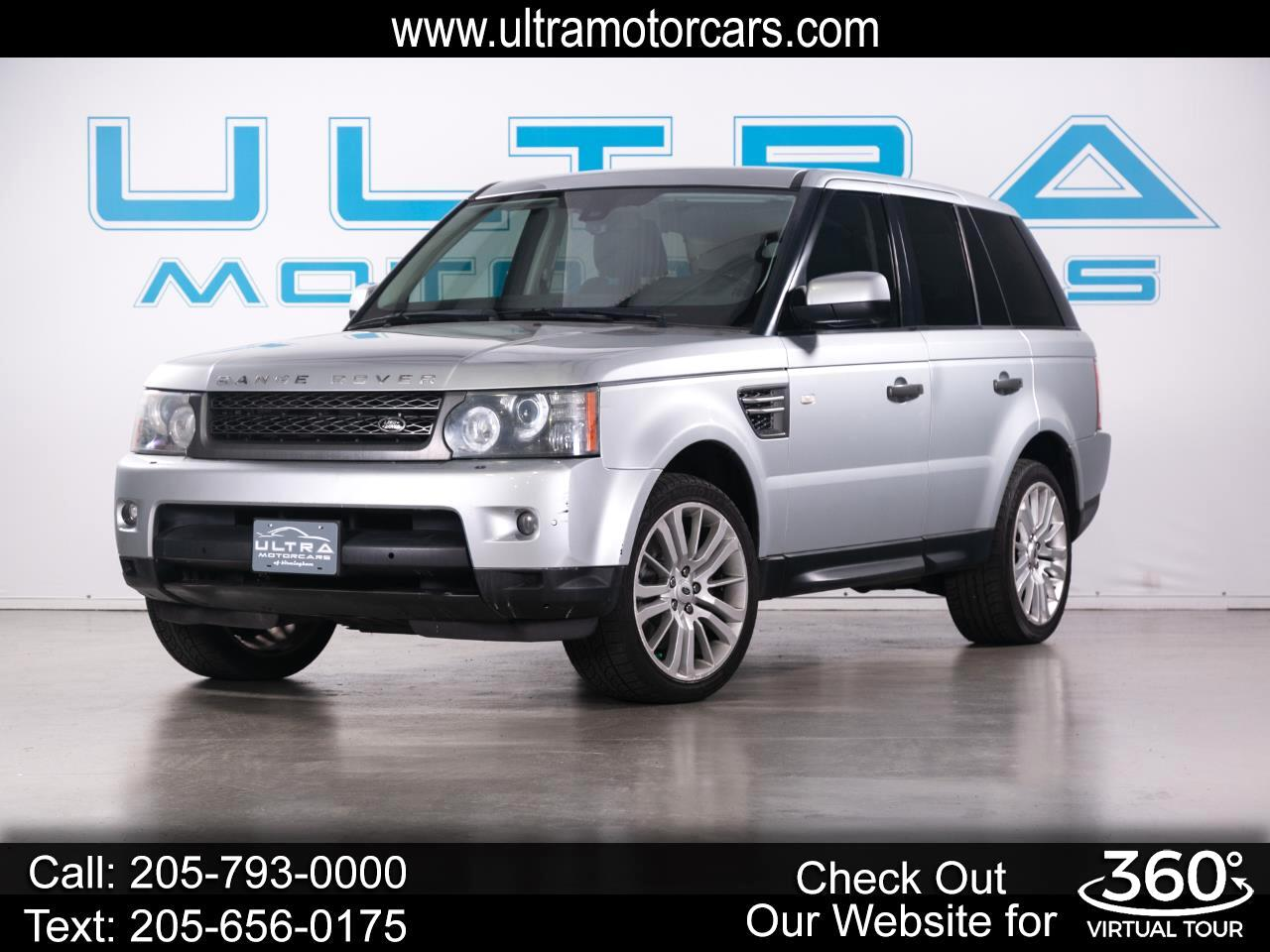 Land Rover Range Rover Sport 4WD 4dr HSE LUX 2010