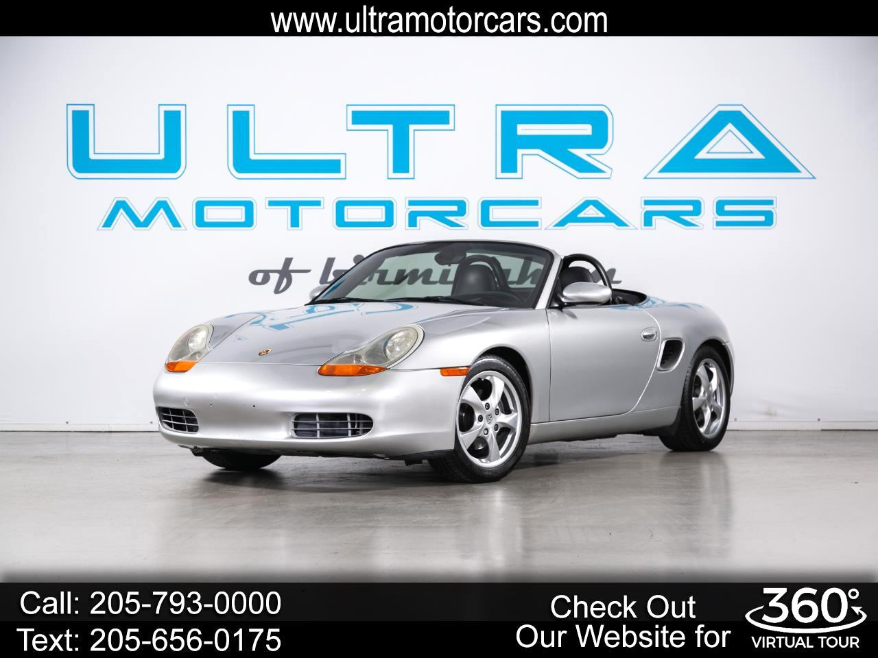 Porsche Boxster 2dr Roadster 5-Spd Manual 2001