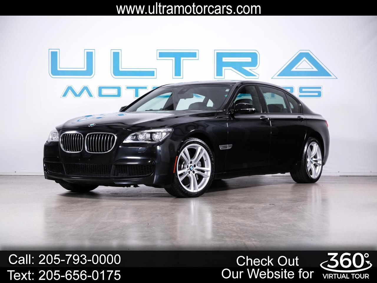 BMW 7 Series 4dr Sdn 750Li RWD 2013