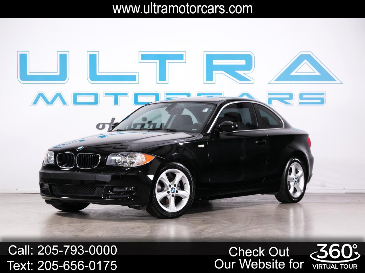 BMW 1 Series 2dr Cpe 128i 2009