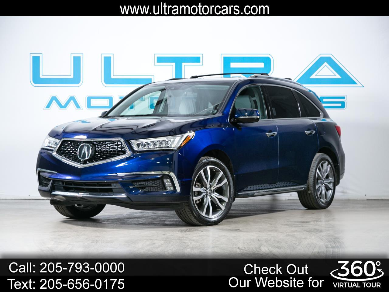 Acura MDX SH-AWD w/Advance Pkg 2019