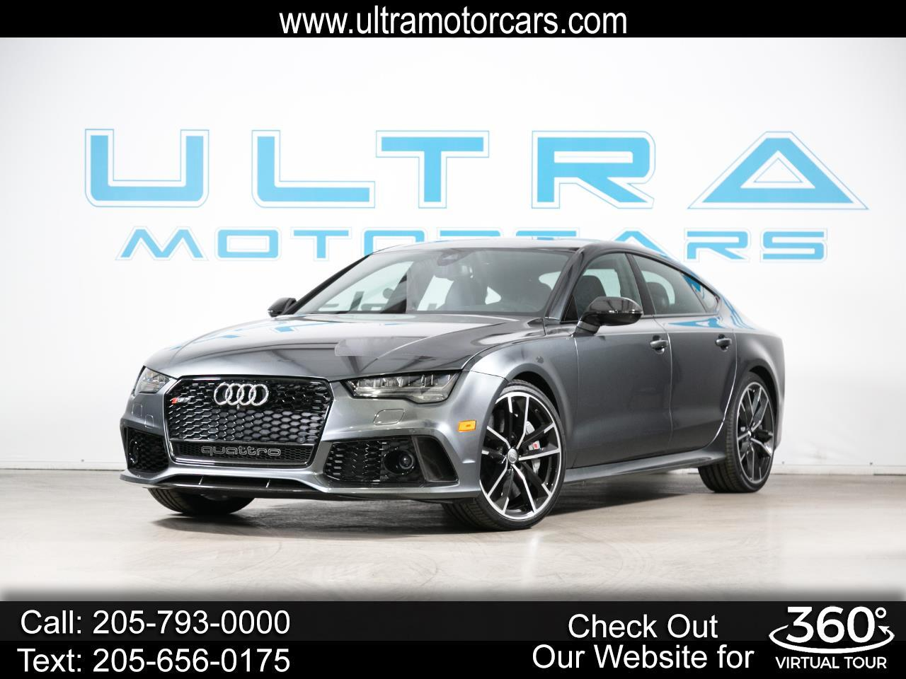Audi RS 7 4dr HB performance Prestige 2016