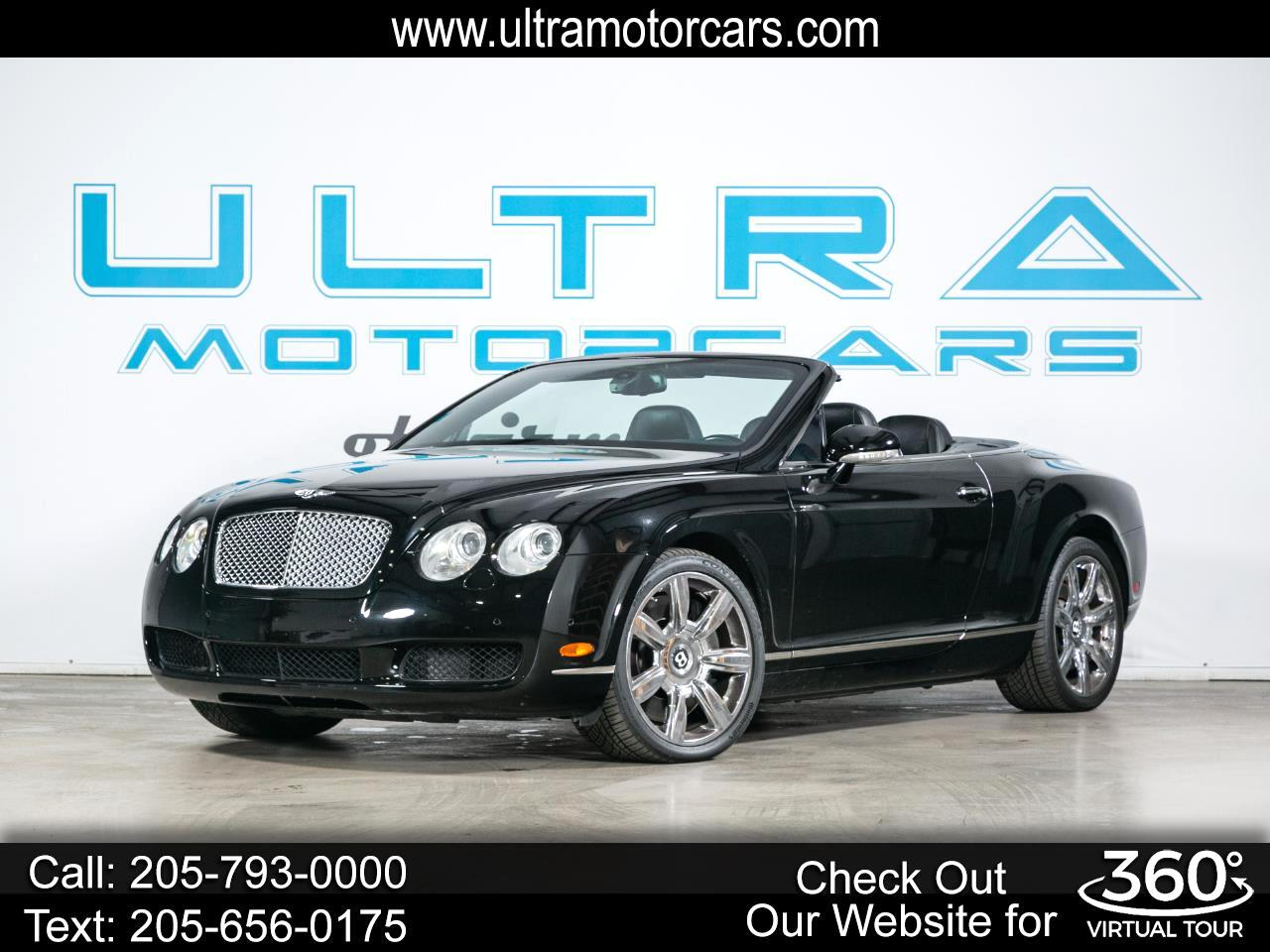 Bentley Continental GT 2dr Conv 2007