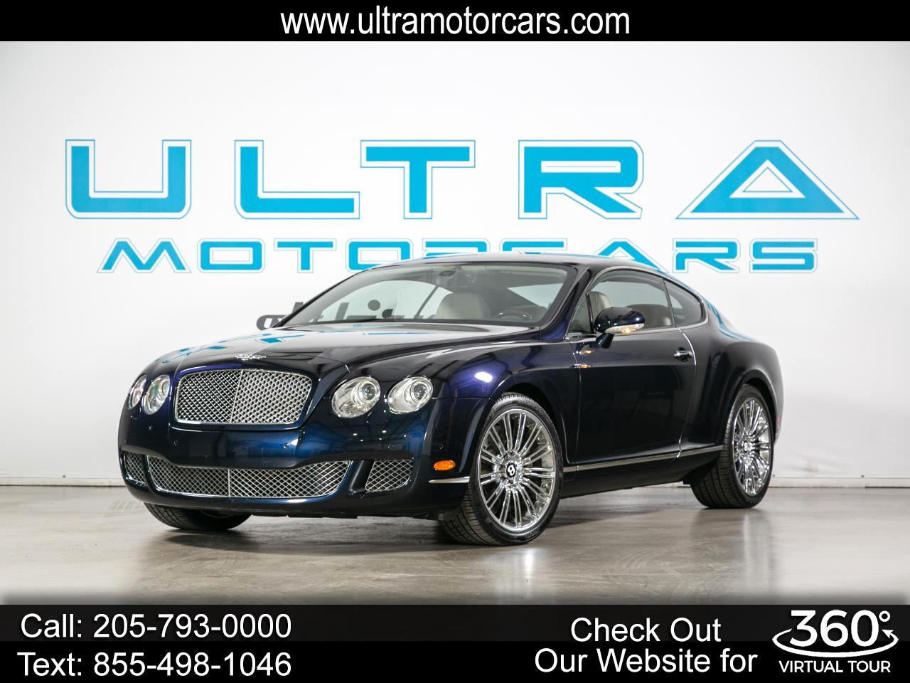 Bentley Continental GT 2dr Cpe Speed 2008