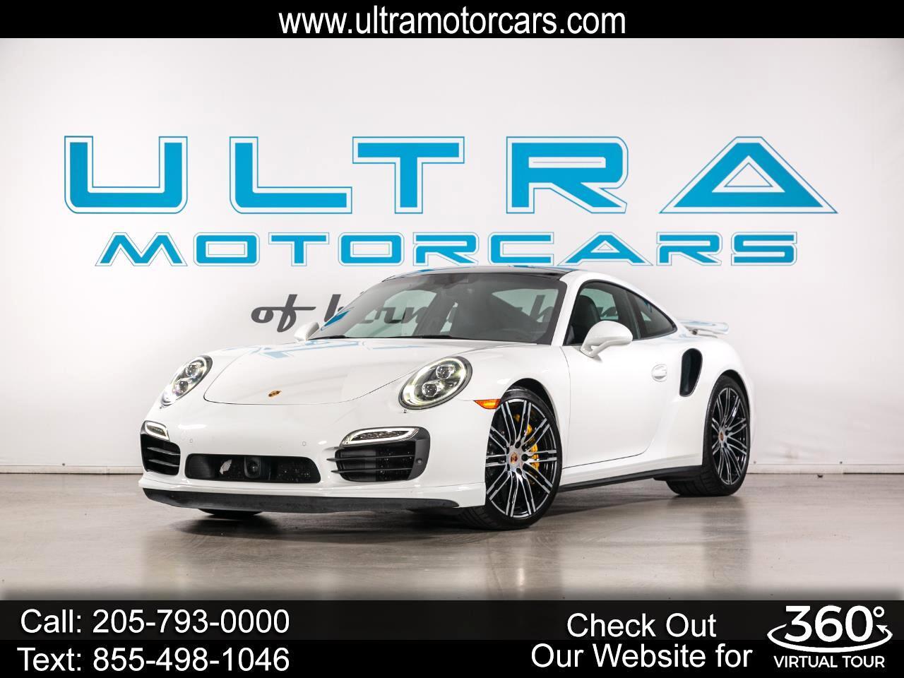 Porsche 911 2dr Cpe Turbo S 2014
