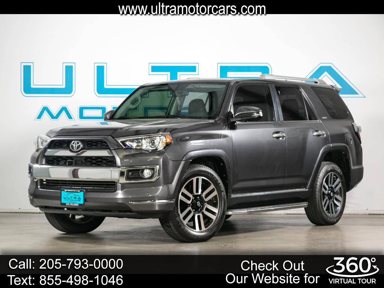 Toyota 4Runner Limited 2WD 2019