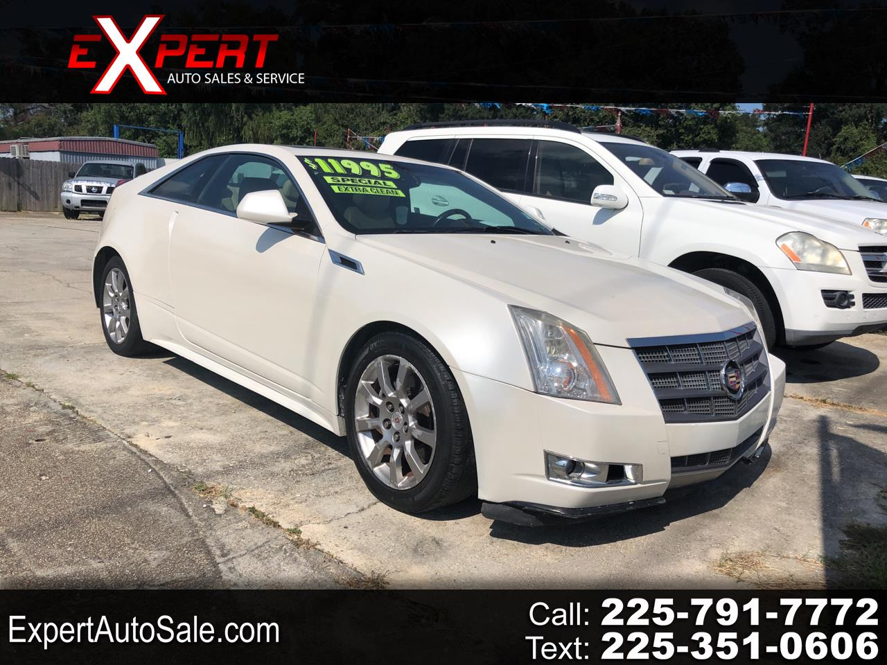 Cadillac CTS Performance Coupe w/ Navigation 2011