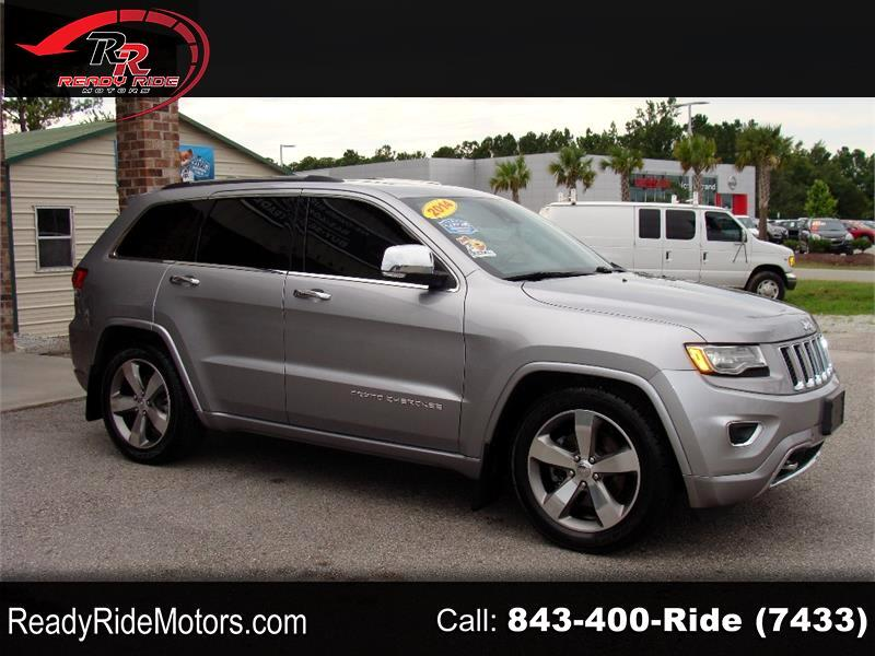 Jeep Grand Cherokee Overland 4WD 2014