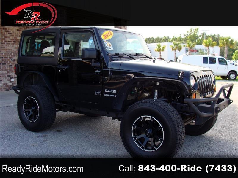 Jeep Wrangler Sport 4WD 2013