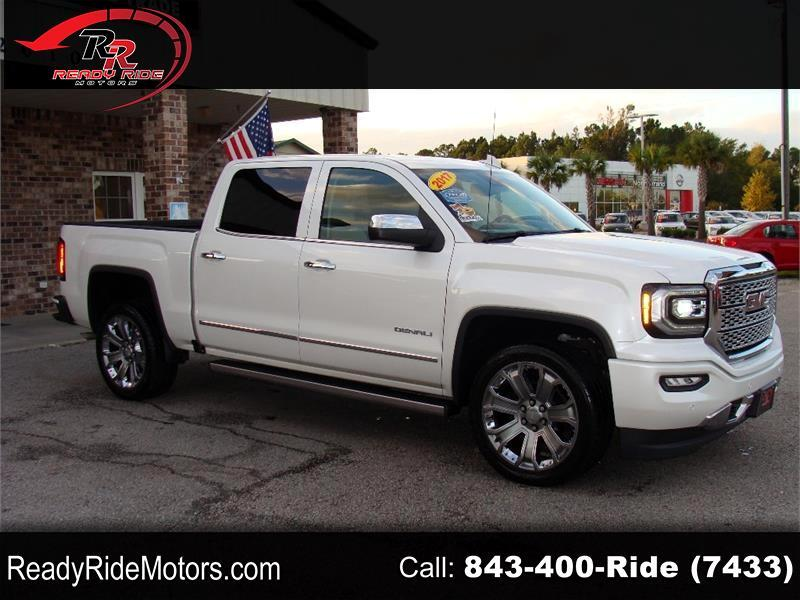 GMC Sierra 1500 Denali Crew Cab Long Box 2WD 2017