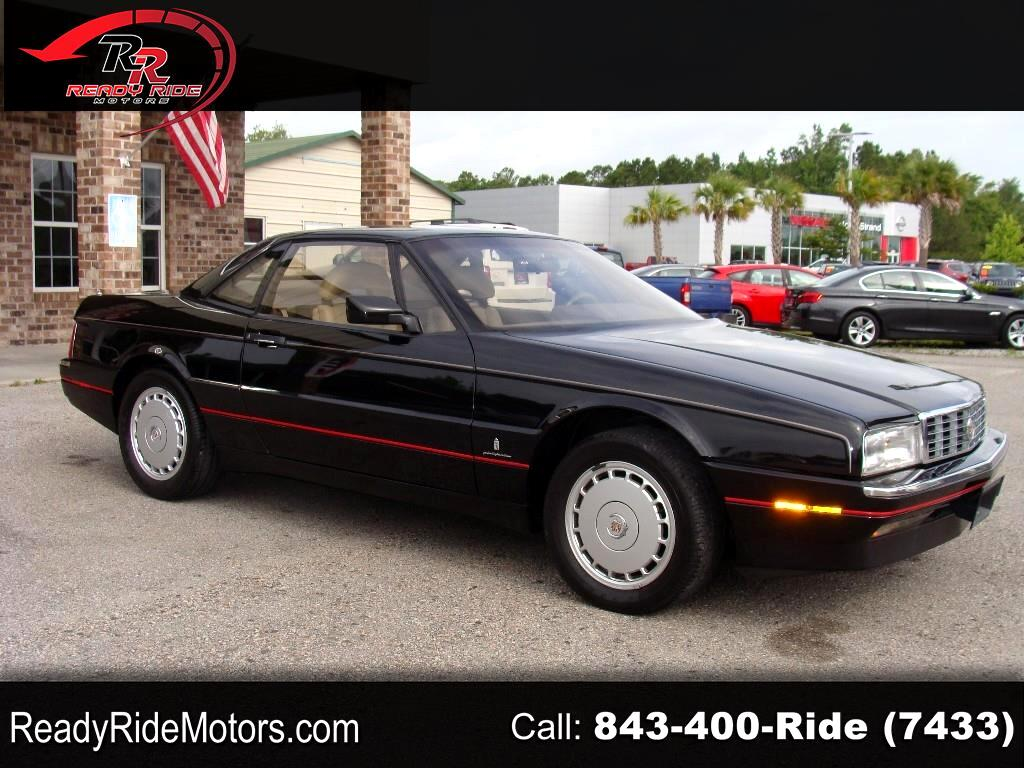 Cadillac Allante Base 1990