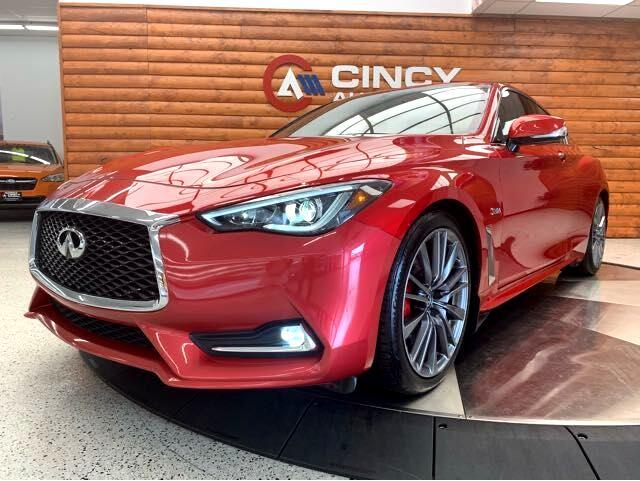 Infiniti Q60 Red Sport 400 2017