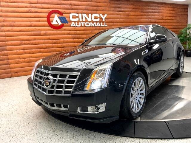 Cadillac CTS Coupe Performance AWD 2014