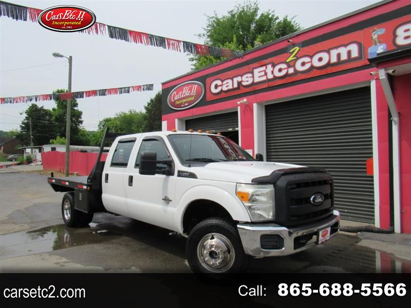 Ford F-350 SD XL Crew Cab Long Bed DRW 4WD 2012
