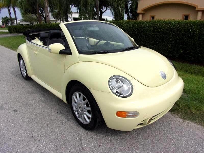 2005 Volkswagen New Beetle GLS 2.0L Convertible