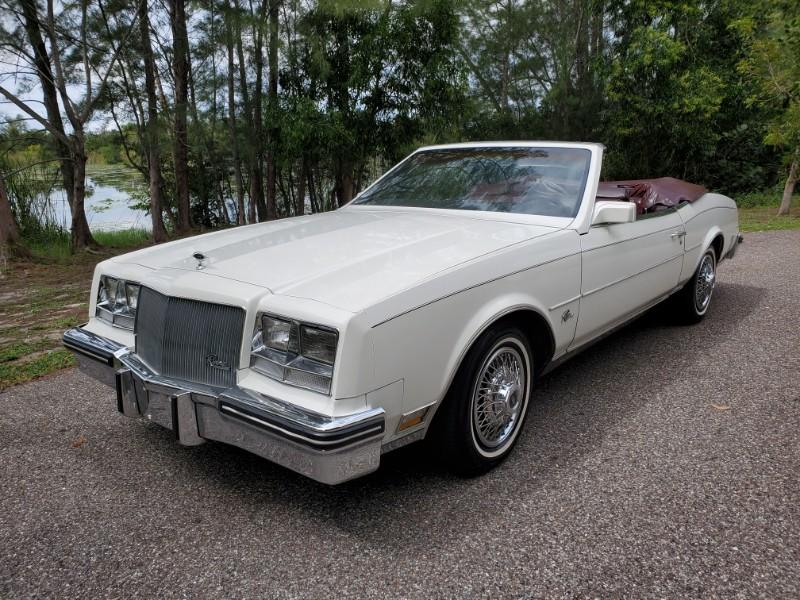 Buick Riviera Convertible 1985