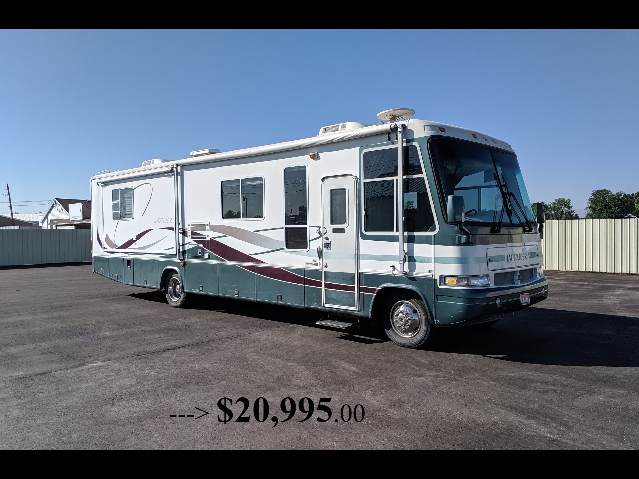 Ford Stripped Chassis Motorhome  2000