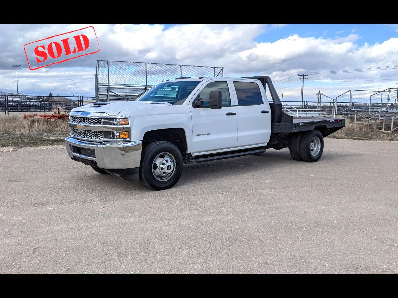 Chevrolet Silverado 3500HD Work Truck Crew Cab 4WD 2019