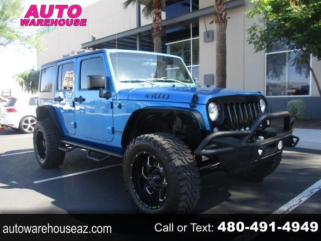 Jeep Wrangler Unlimited 4WD 4dr Willys Wheeler 2016