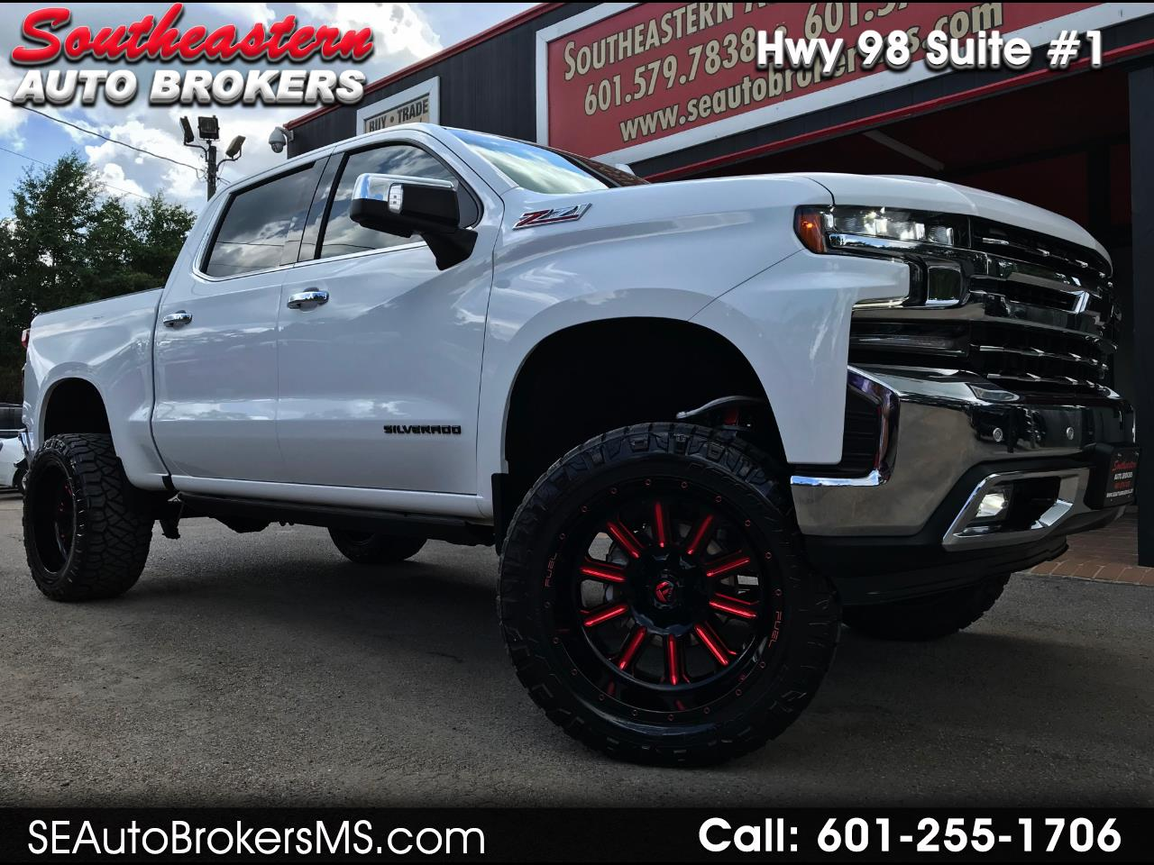 2019 Chevrolet Silverado 1500 LTZ CREW CAB SHORT BED 4WD CUSTOM LIFTED