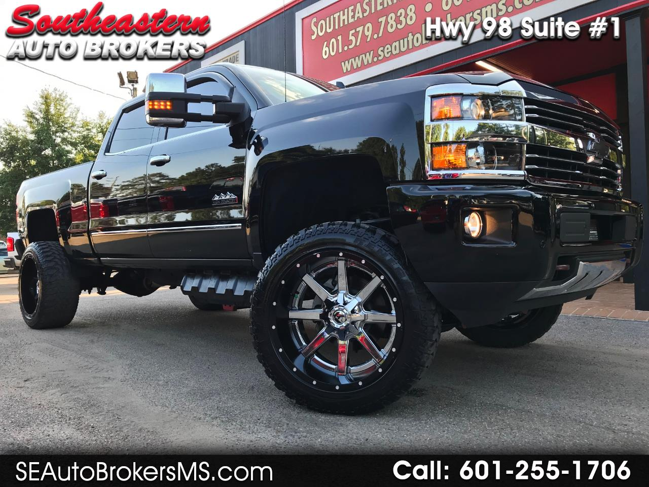 2017 Chevrolet Silverado 2500HD LTZ HIGH COUNTRY CREW CAB 4WD CUSTOM LIFTED
