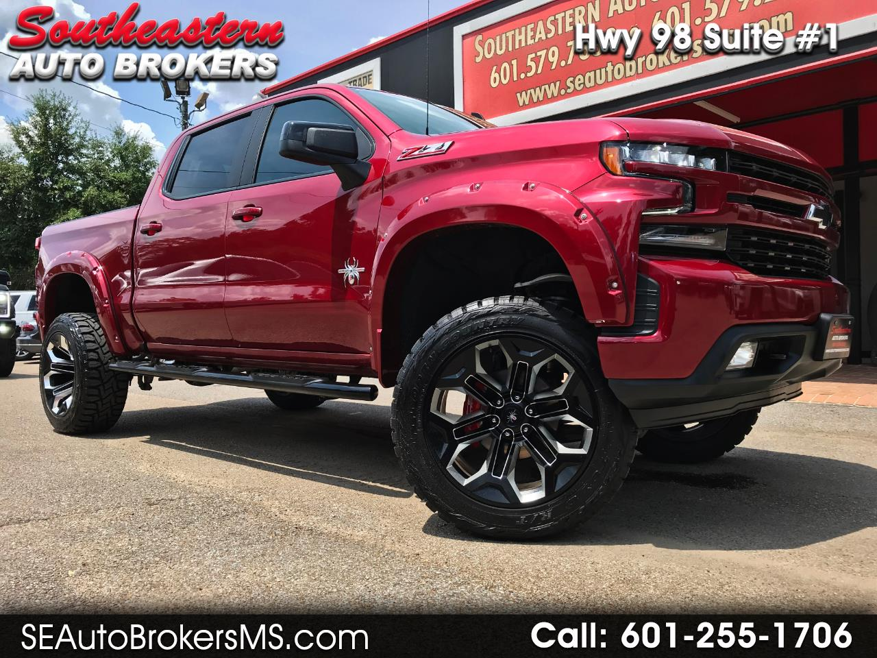 2019 Chevrolet Silverado 1500 RST CREW CAB 4WD SCA PERFORMANCE BLACK WIDOW CUSTO