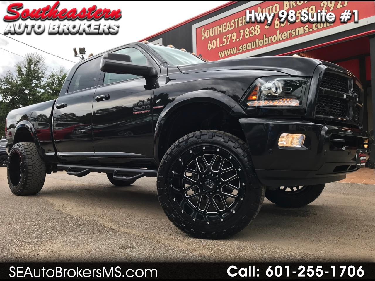 2017 RAM 2500 LARAMIE CREW CAB SHORT BED 4WD CUSTOM LIFTED