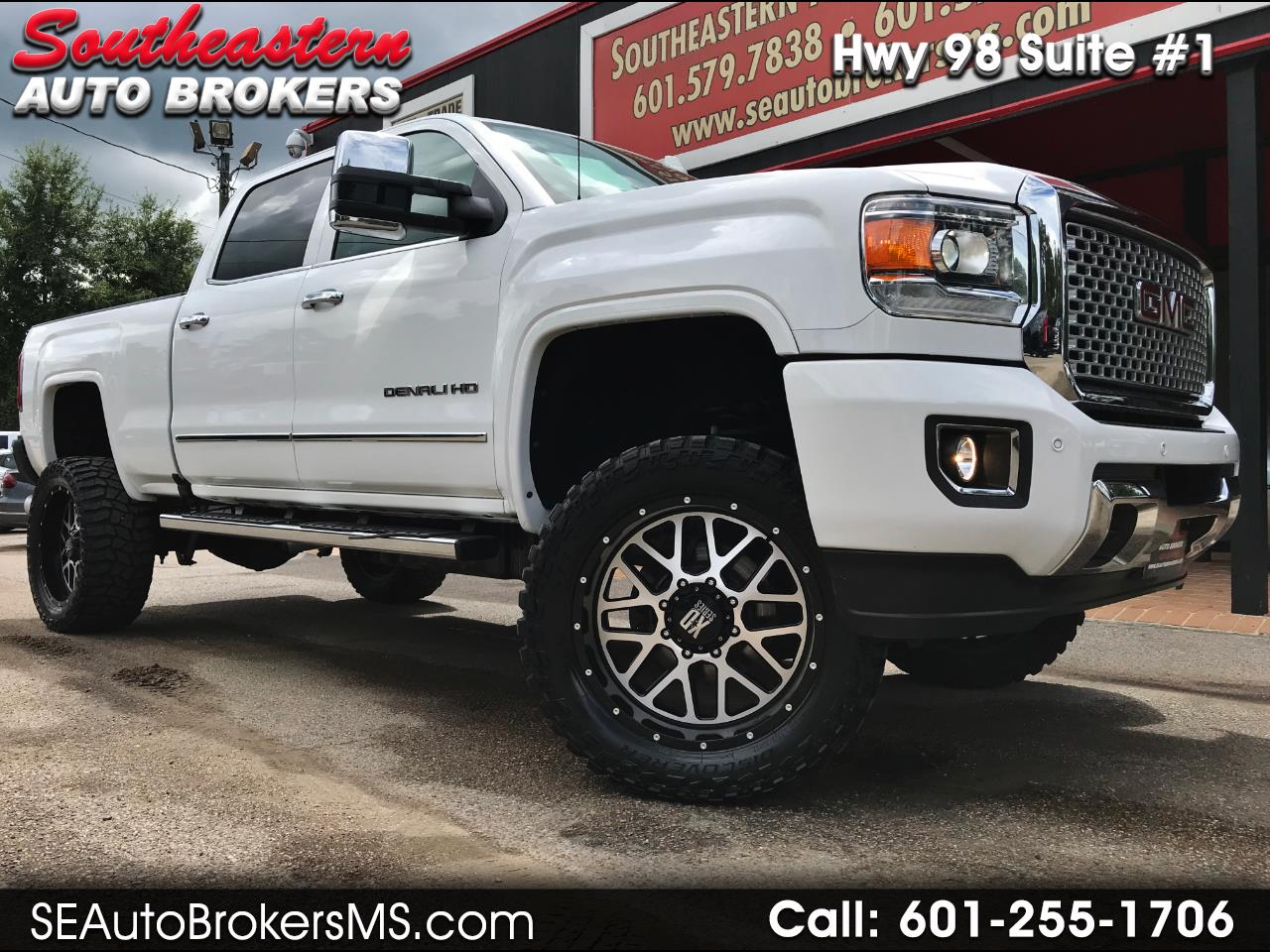 2016 GMC Sierra 2500HD DENALI CREW CAB SHORT BED 4WD CUSTOM LIFTED