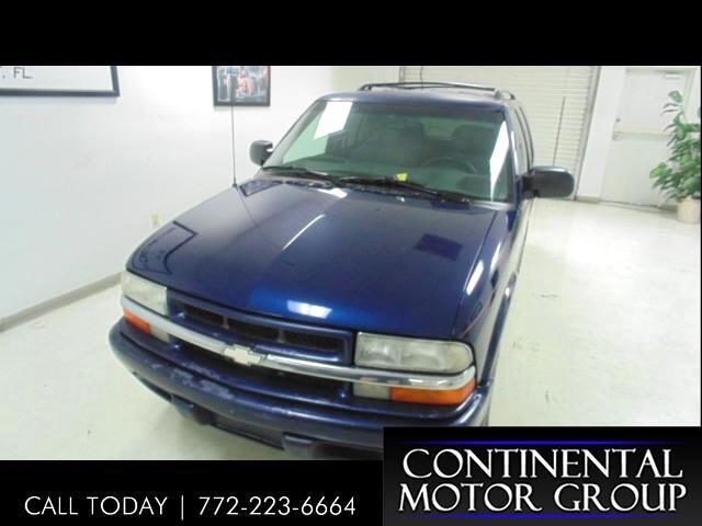 2001 Chevrolet Blazer 4-Door 2WD LS
