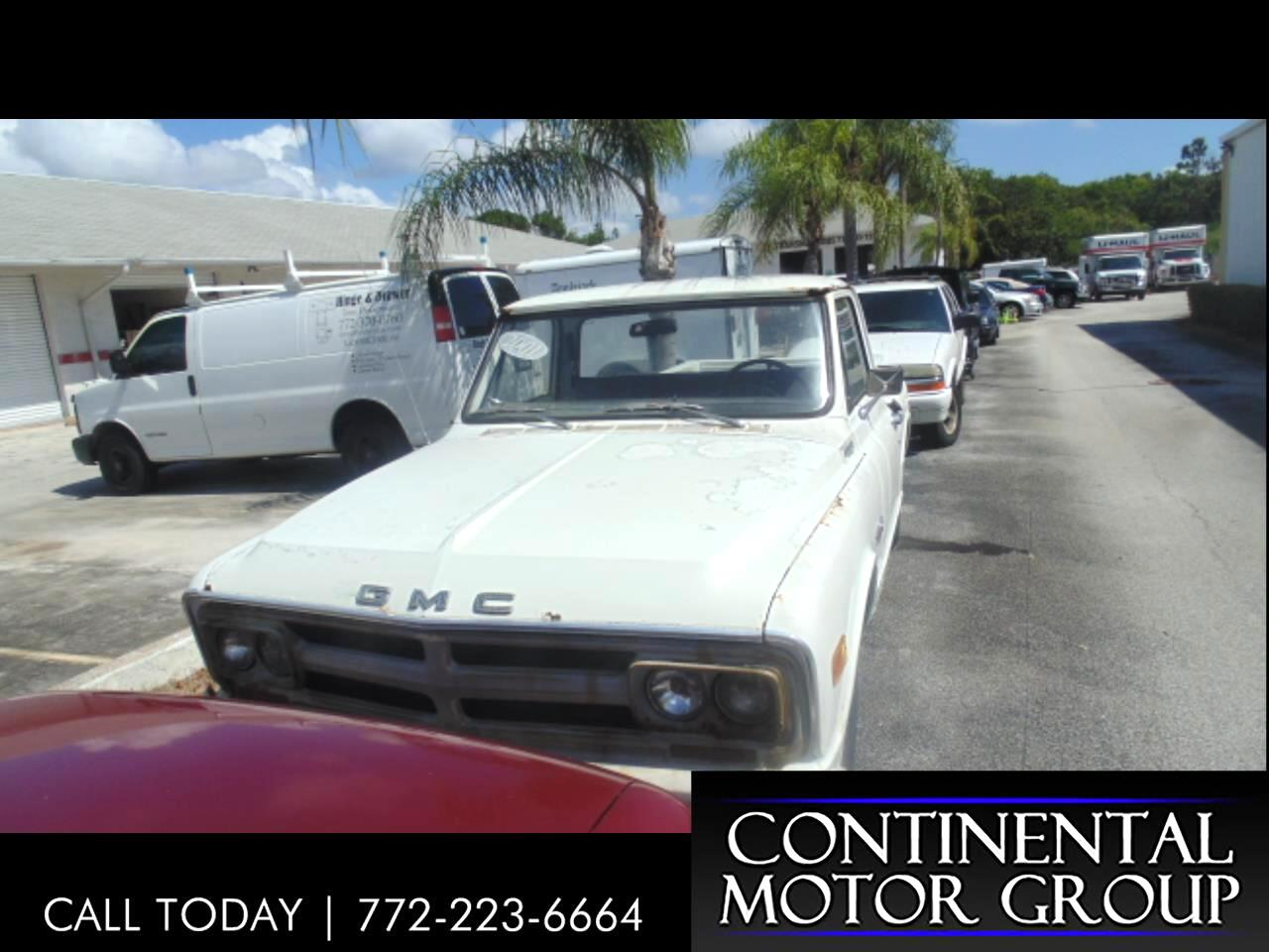 1968 GMC 1/2 Ton Pickups Sportside 117.5""