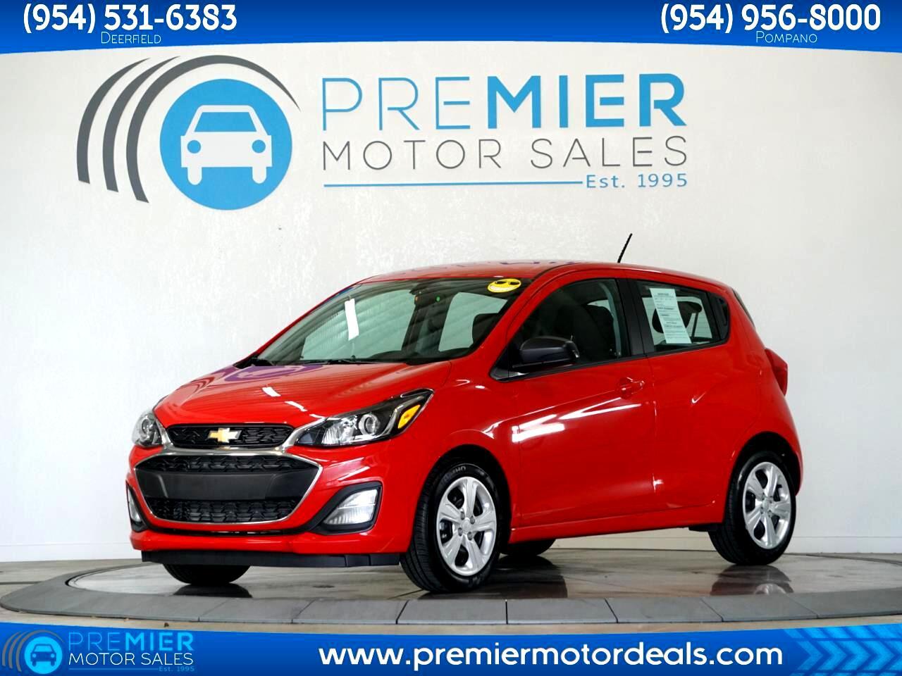 Chevrolet Spark LS CVT 2020