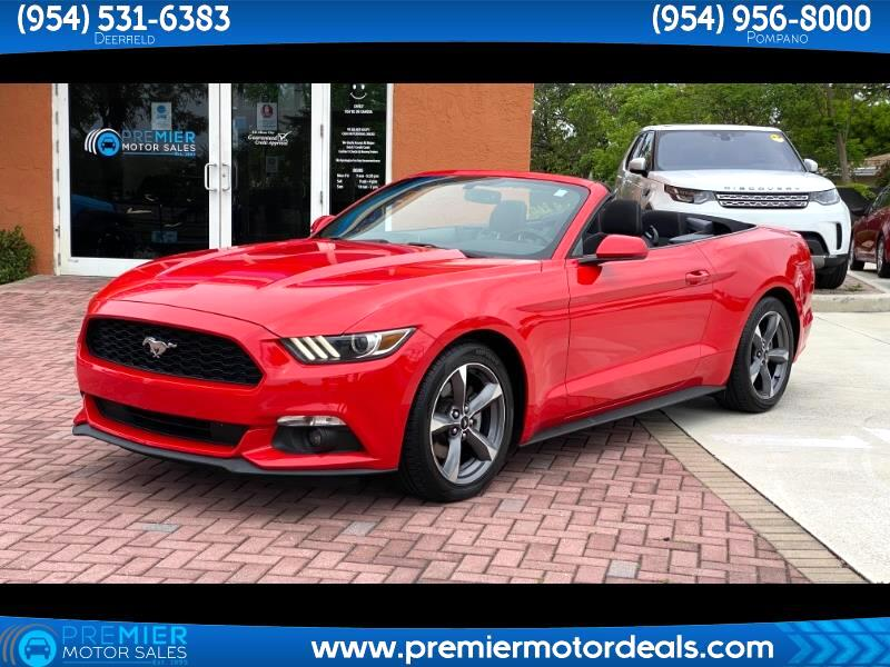 Ford Mustang V6 Convertible 2015