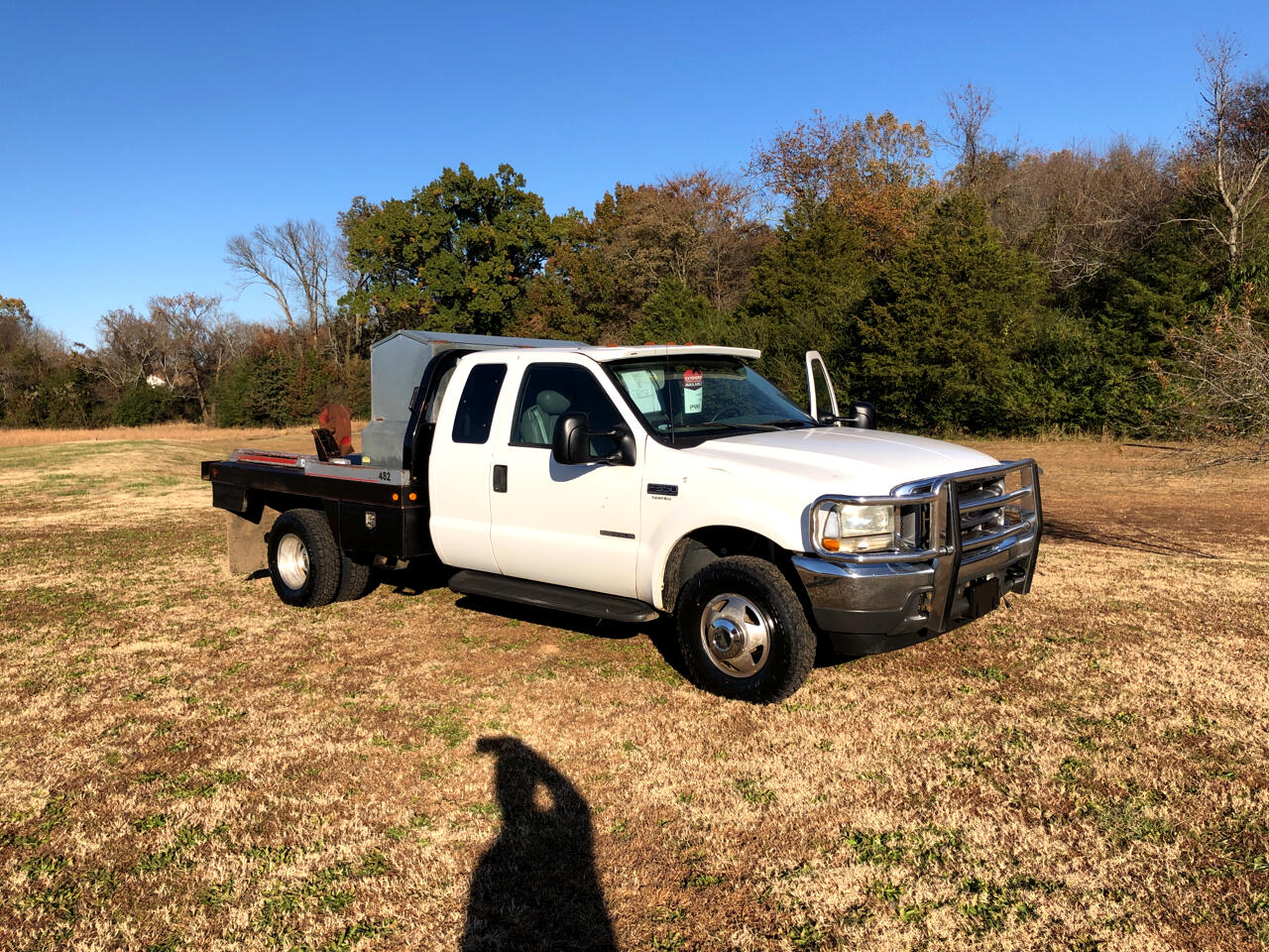 Ford F-350 SD XL SuperCab Long Bed 4WD DRW 2002