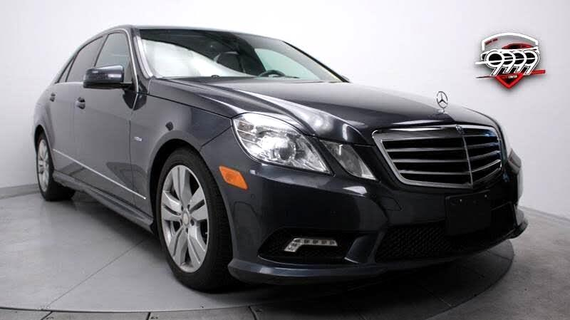Mercedes-Benz E-Class E350 BlueTEC Sedan 2011
