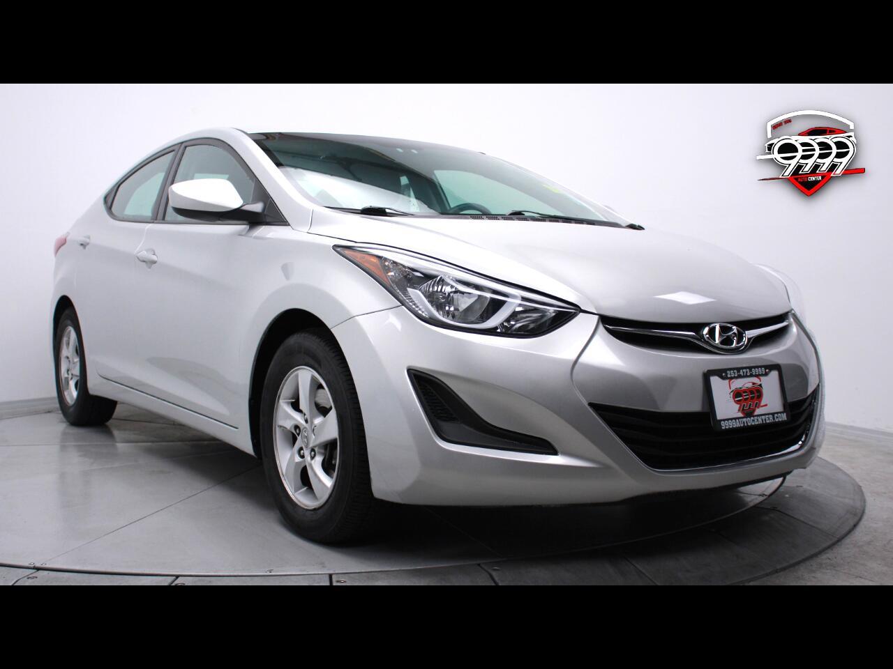 Hyundai Elantra SE 6AT 2015