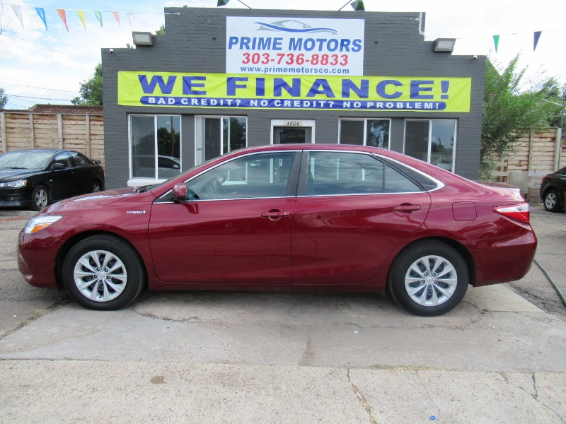 Toyota Camry Hybrid 4dr Sdn LE (Natl) 2016