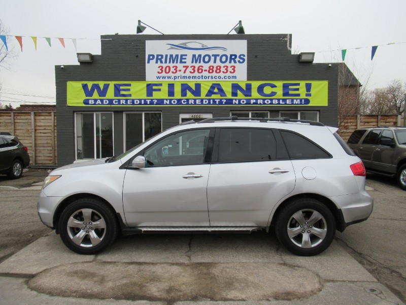 Acura MDX 4dr SUV AT Touring RES w/Navi 2007