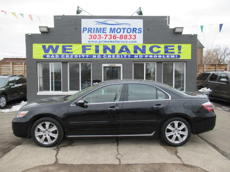 Acura RL 3.5RL with Navigation System 2009