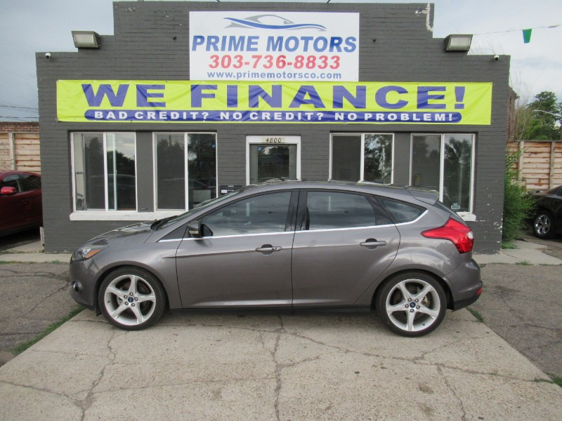 Ford Focus Titanium Hatch 2014
