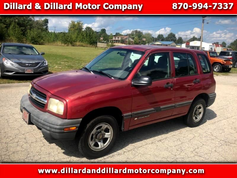 Chevrolet Tracker 4-Door 2WD 2001